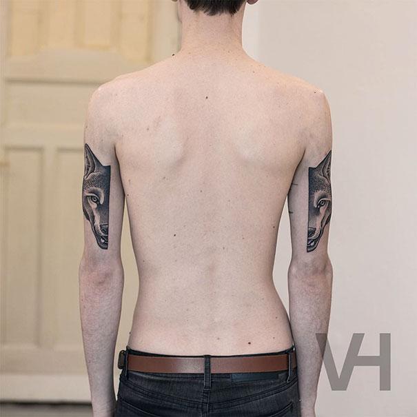 Symetryczne tatuaze autorstwa Valentina Hirsch7
