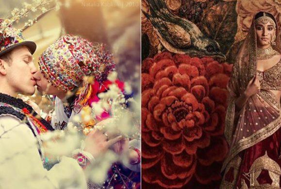 Zobacz, jak wyglądają suknie ślubne z najdalszych zakątków świata. Galeria
