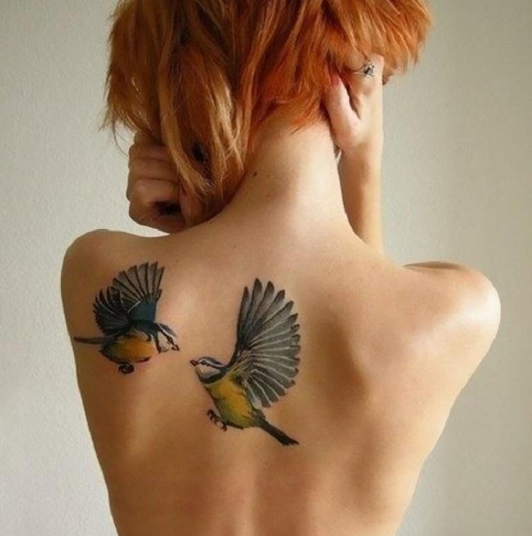 15 Wzorów Na Tatuaże Z Ptakami Znaczenie I Symbolika Dzielnica