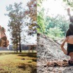 Karmi piersią ćwicząc jogę! Ta kobieta udowadnia, że macierzyństwo nie oznacza rezygnacji ze swoich pasji