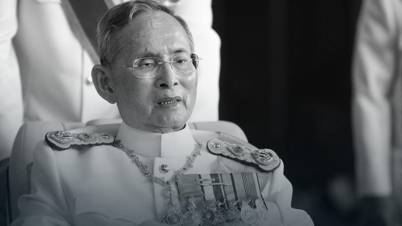 Odszedł najdłużej panujący monarcha na świecie. Król Tajlandii Bhumibol Adulyadej (Rama IX ) nie żyje…