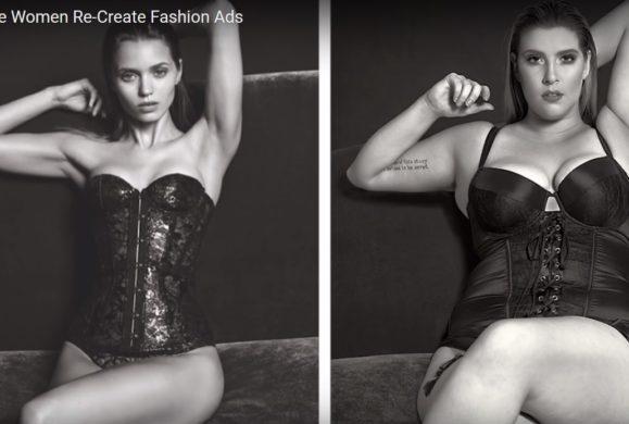 Kobiety plus size odtwarzają kampanie ze znanymi modelkami