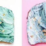 #Mermaidtoast – nowy trend kulinarny podbija Instagram. Tosty niczym morskie fale