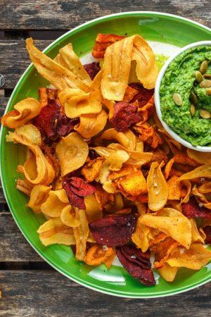 zdrowe chipsy warzywne