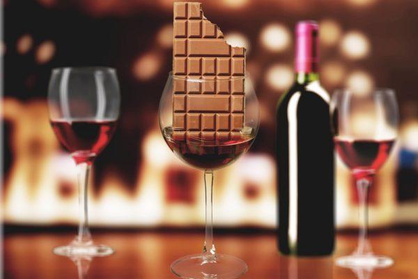 Odchudzanie z czekoladą i winem
