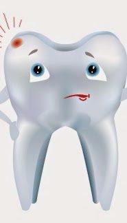 udzi ząb pod mikroskopem atomowym