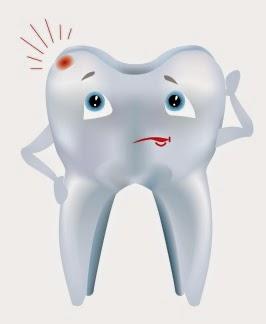 Jak wygląda ludzi ząb pod mikroskopem atomowym?